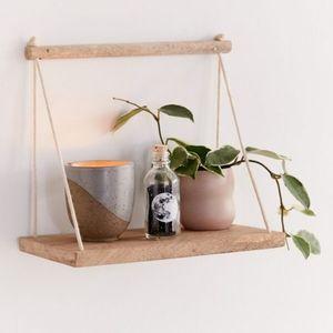 NWT | UO Asher Rope Hanging Wall Shelf